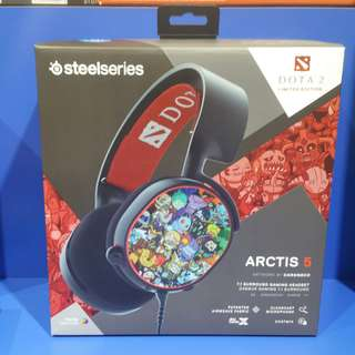 Steelseries Arctis 5 DOTA LIMITED Edition