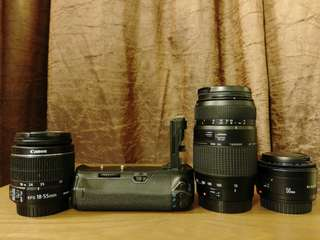CANON LENS PACKAGE