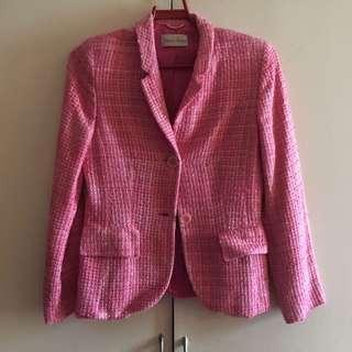 Vittoria Verani Pink Blazer M