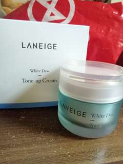 LANEIGE WHITE DEW - TONE UP CREAM