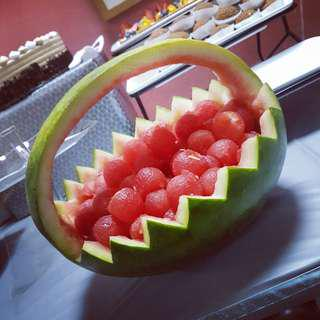 Watermelon Fruit Basket for Parties