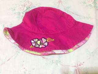 Pink Cap for kids 1 to 3/4 old