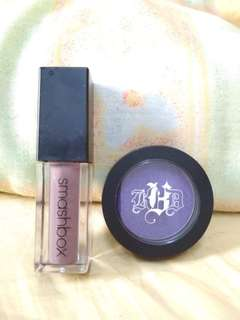 Smashbox Liquid Lip + Kat Von D Metal Crush Eyeshadow in Danzig/ Purple