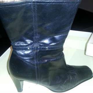 Enzo Angiolini ankle boots with heel