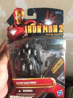Marvel iron man 2 warmachine 3.75