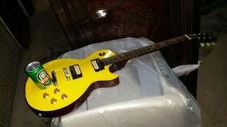 USA Gibson electric guitar, Les Paul Model, 39 inch long, trade in Tuen.Mun  美國絕版 Gibson電孑結他, 長39吋,屯門交收