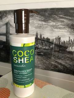🚚 Coco Shea Cucumber - Seriously Soft Body Lotion