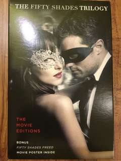 The Fifty Shades Trilogy (Movie Tie-in) by EL James