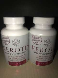 Kerotin hair growth tablets