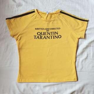 Quentin Tarantino Crop Top