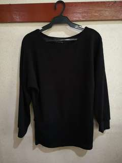 Black sweater from The Ramp