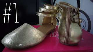 Pre loved shoes and sandals