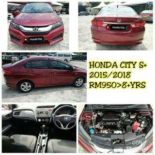 Sambung bayar Honda City S+