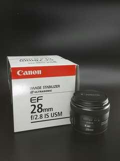 Canon EF 28mm F1.8 USM. 100% Canon Malaysia Warranty