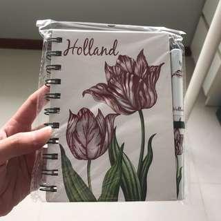 Keukenhof Notebook With Pen