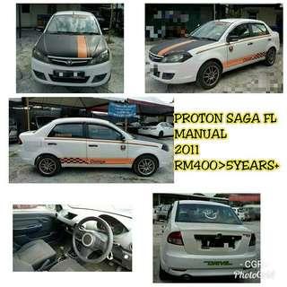 Sambung bayar Proton Saga FL 1.3 (M)