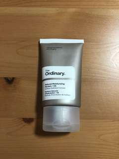 The ordinary natural moisturising factors + HA