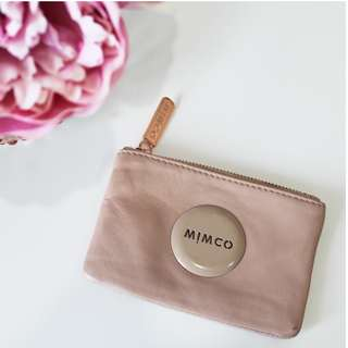 Dusty Pink Mimco Pouch