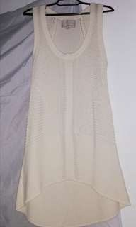 Banana Republic Beach Cover up Dress Beige