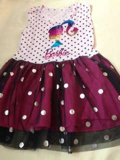 Barbie dress age 1 to 3 old