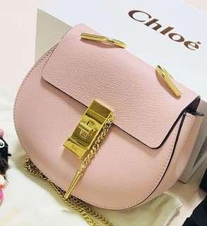 Chloé Chloe Drew Shoulder Bag 櫻花🌸粉紅色皮包袋