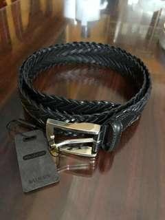 Balmain mens leather belt