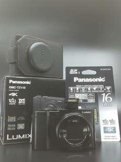 Panasonic TZ11O Digital Camera. Panasonic Malaysia 1+1 years Warranty. FOC: 16gb Card,Extra battery, leather pouch