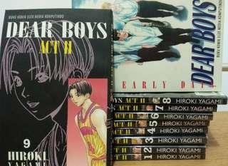 Komik basket Hiroki Yagami - Dear Boys Act 2 vol 1-9