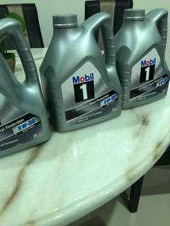 Mobil one full synthetic engine motoroil 5w-50