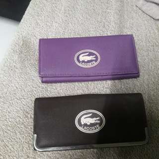 Lacoste bundle bag and wallet