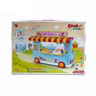 Cook Fun Fast Food Bus