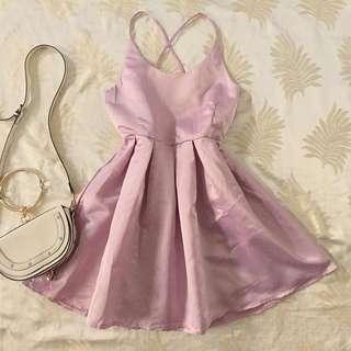 Mauve Pink Barbie Doll Dress