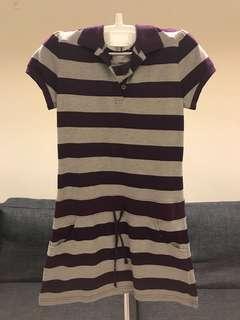 A區:紫灰線條連身裙/洋裝/運動風