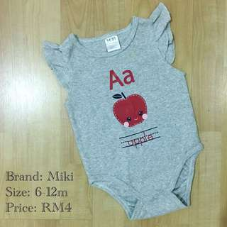 [3 for RM10] Miki Baby Romper