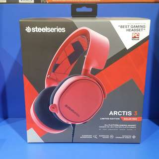 Steelseries Arctis 3 limited edition Solar Red