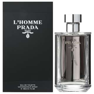 Prada L'homme EDT for Men L'homme Black