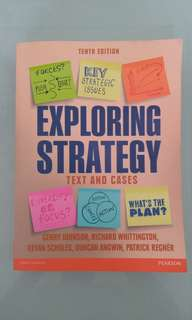 Exploring Strategy Tenth Edition
