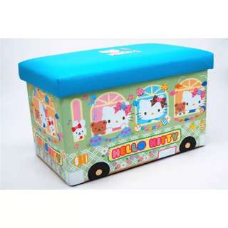 Hello KT Foldable Storage Box Chair T662