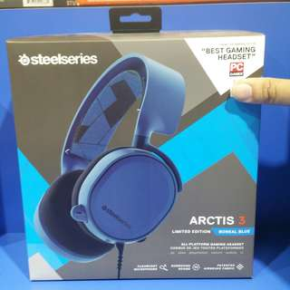 Steelseries Arctis 3 Limited EDITION  Boreal blue