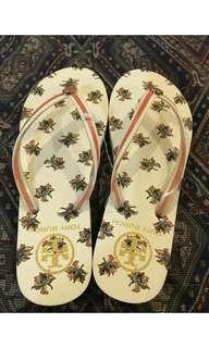 Tory Burch Flip Flops size 5 US