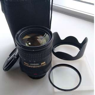 Nikon AF-S Nikkor 18-200 mm 3.5-5.6 VR + Hoya HMC 72mm UV(0) + Bag