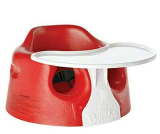 Bumbo Seat with play tray Red still in box