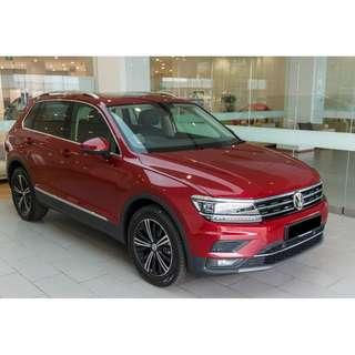 Volkswagen Tiguan 1.4 Auto TSI DSG EQP