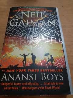 Neil Gaiman Anansi Boys