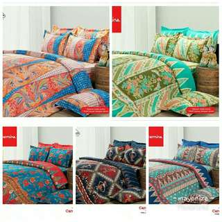 Bedcover set king size batik