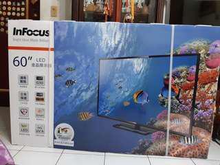 🚚 Infocus 60吋電視