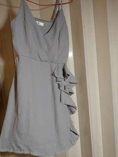 Dress ruffle 裙 連身裙 斯文裙