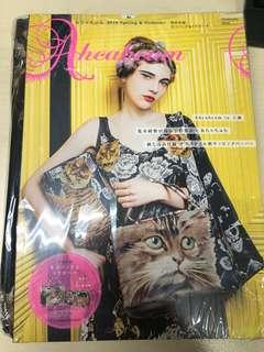 全新日本雜誌連貓貓袋兩個