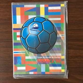 98年法國世界盃紀念郵票 (購自法國未開封)