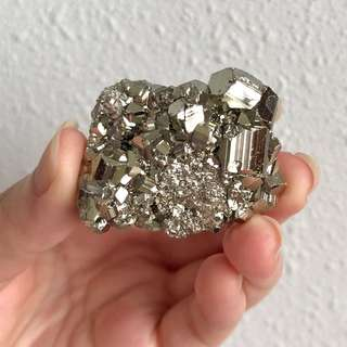 Golden Iron Pyrite #M3